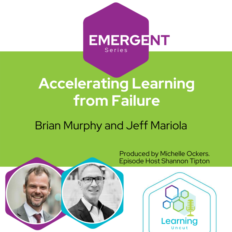 Emergent Series: Accelerating Learning from Failure – Brian Murphy &  Jeff Mariola