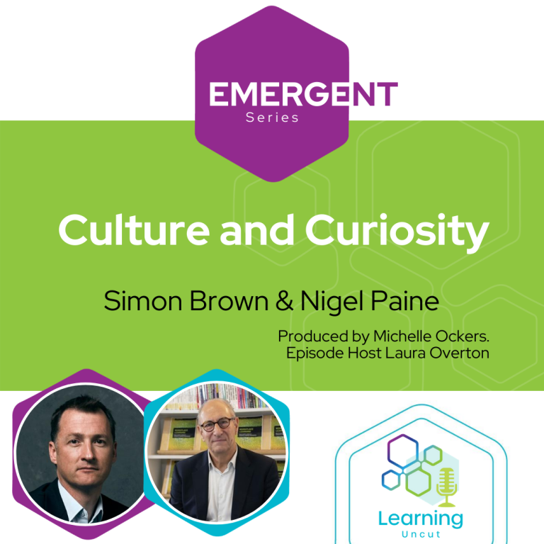 Emergent Series: Culture and Curiosity - Simon Brown and Nigel Paine