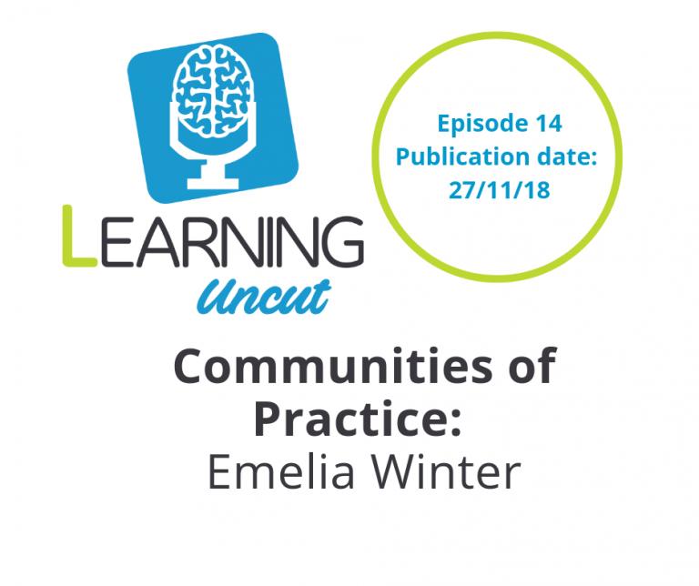 14: Building a Community of Practice - Emelia Winter