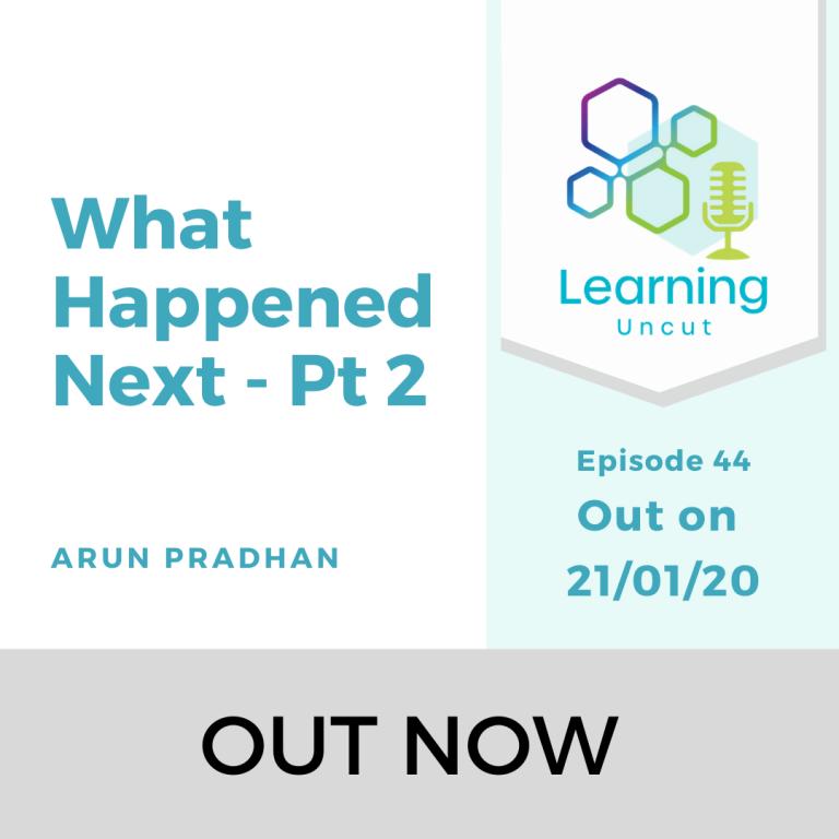 44: What Happened Next Pt 2 - Arun Pradhan