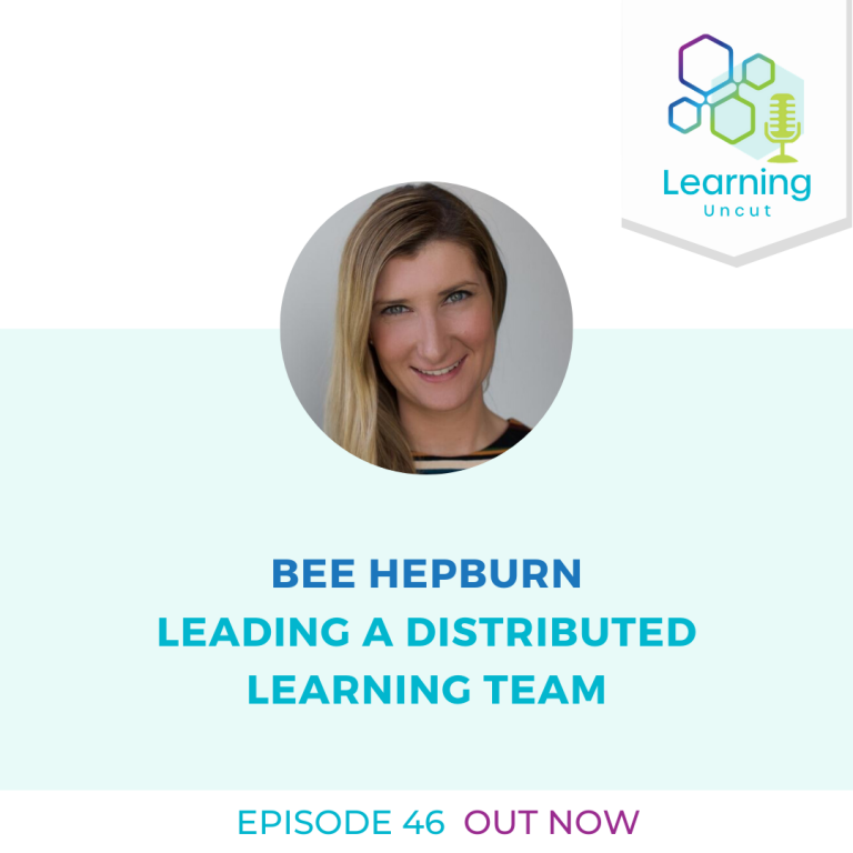 46: Leading a Distributed Working Team - Bee Hepburn