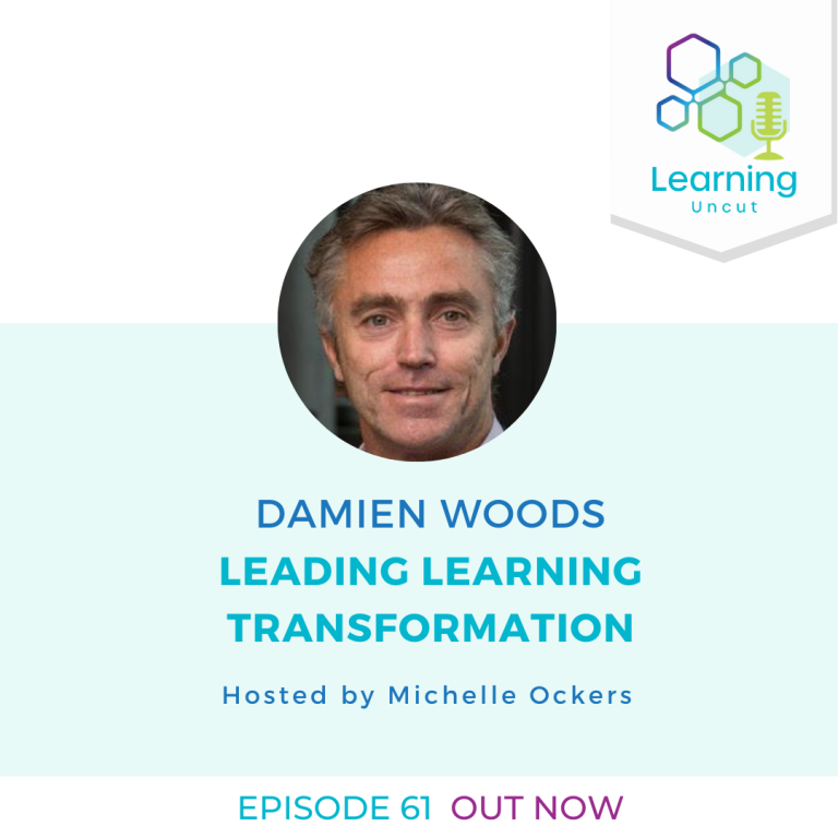 61: Leading Learning Transformation – Damien Woods