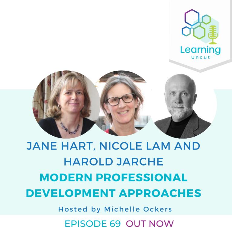 69: Modern Professional Development Approaches - Jane Hart, Nicole Lam and Harold Jarche