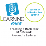 23: Creating a Rock Star L&D Brand - Alexandra Lederer