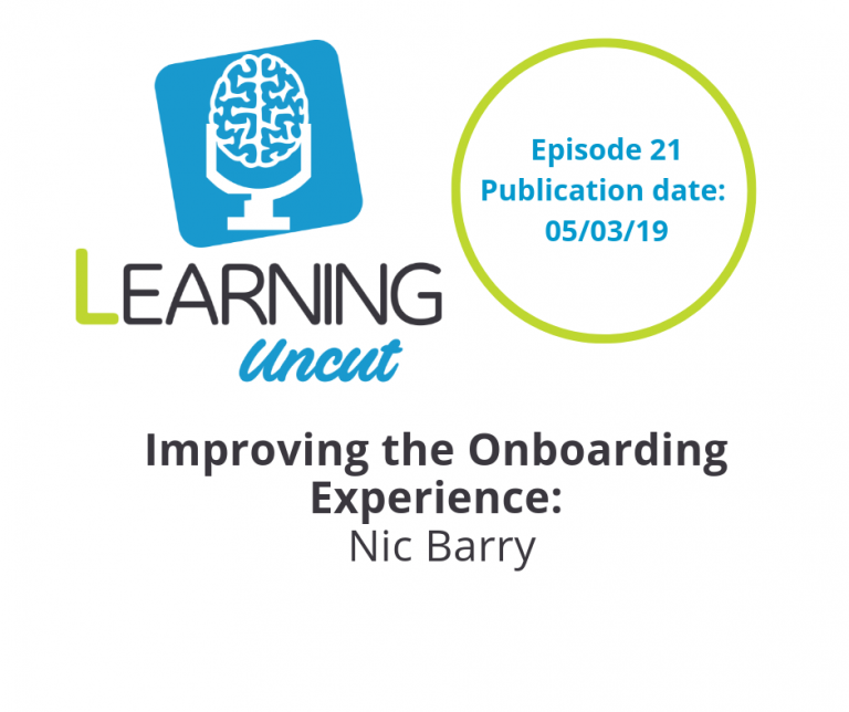 21: Improving the Onboarding Experience - Nic Barry