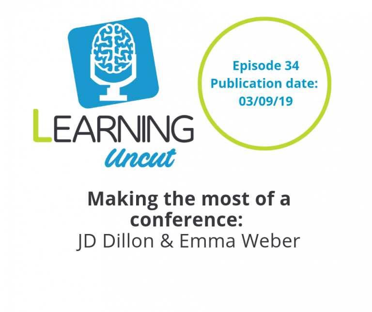34: Making the Most of a Conference - Emma Weber and JD Dillon