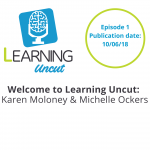 1: Welcome to the Learning Uncut Podcast - Michelle Ockers & Karen Moloney