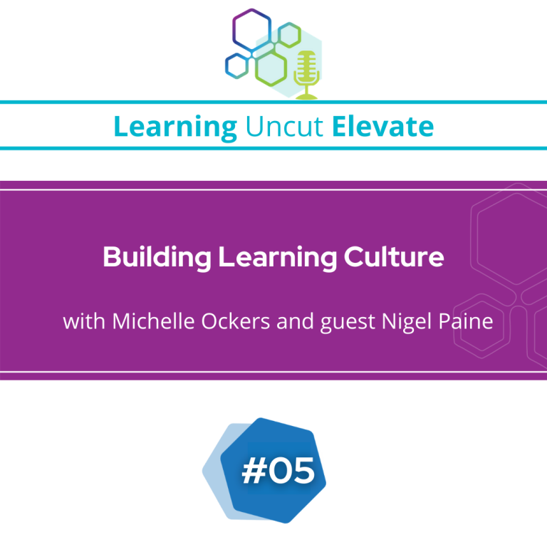 Elevate 05: Building Learning Culture