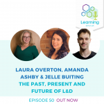 50: The  Past, Present and Future of L&D - Laura Overton, Amanda Ashby, Jelle Buiting